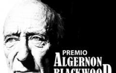 I finalisti del Premio Algernon Blackwood
