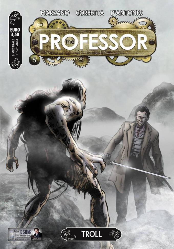 fumetti vacanza the professor