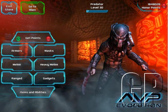 Una schermata del gioco AvP:Evolution