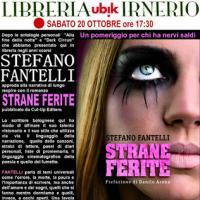 Presentazionte di Strane Ferite a Bologna