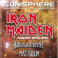 Iron Maiden - Sonisphere 2013: svelate le altre band!